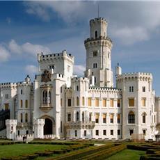 """Cesky Krumlov + castle """"Hluboka"""","""