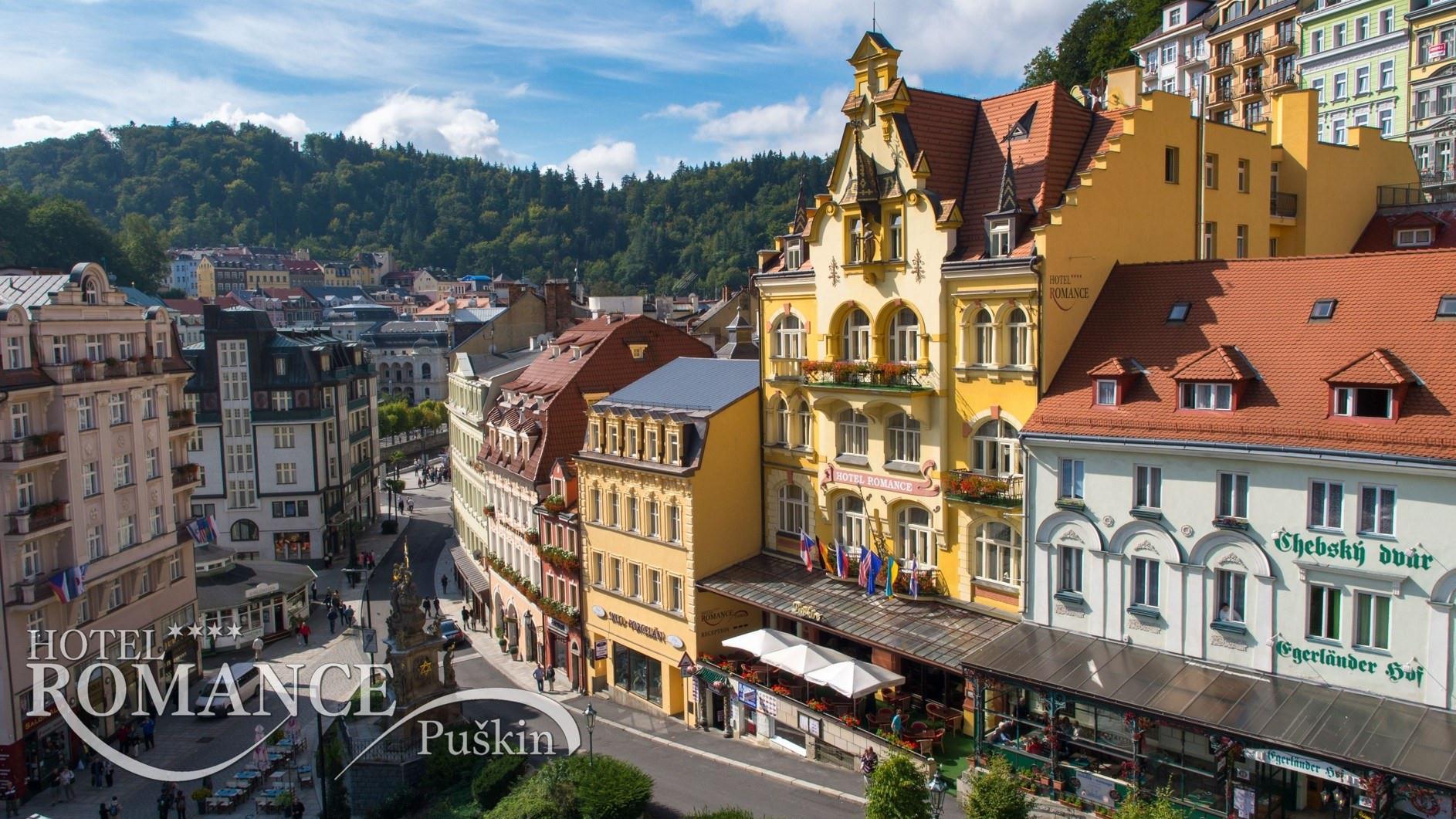 Romance Puskin Karlovy Vary Street