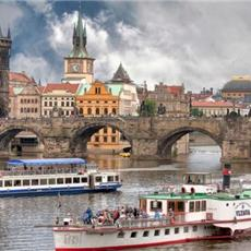 Prague evening,